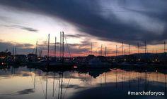 """Porto di Porto San Giorgio -FM by @fragiov91 """"PEACE."""""""
