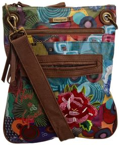 Desigual Women's Plastificado Everyday Handbag: