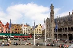 In the northwest of Belgium lies one of the most charming placed I have ever visited: Bruges. With its series of canals and gorgeous archite. Oh The Places You'll Go, Great Places, Places To Travel, Places Ive Been, Beautiful Places, Travel Destinations, Vacation Spots, Around The Worlds, City