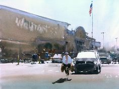 Joseph Zbukvic, Walmart car park ... remember, there are no bad subjects... Z, in Dallas