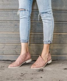 Barrow Suede Flats from Moorea Seal.