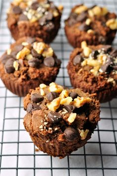Chunky Monkey Muffins Recipe--adapted from Real Life Paleo. Grain-free, dairy-free deliciousness