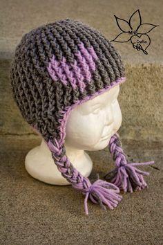 MNE Crafts: Full of Love Ear-flap Beanie - free crochet pattern
