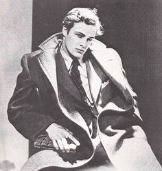 Marlon Brando, early 1950s. The most handsome photo I've ever seen of Brando.