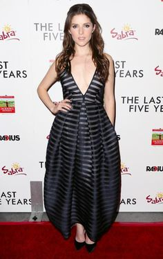 Anna Kendrick's Best Red Carpet Looks Ever - In Vionnet, 2015 from #InStyle