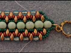 """This video tutorial from The Potomac Bead Company teaches you how to make Allie Buchman's """"Queen of Diamonds"""" bracelet design. Our Website (Shop online & fin..."""
