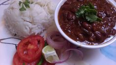 I come from a family where rajma, chole, kaali daal (urad daal or mah ki daal) were not the part of daily food. As kids we would head to the nearest dhaba or a small hotel (hatti) to savour these d... #redkidneybeans #indiancuisin #food #rajmachawal #rajma #indiancurry #rajmarice