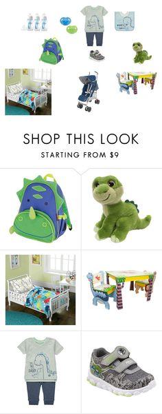 Dinosaur Baby. Boy. Blue and Green