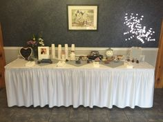 @trilliumtrails Table Settings, Winter Weddings, Table Decorations, Furniture, Home Decor, Homemade Home Decor, Home Furnishings, Interior Design, Place Settings