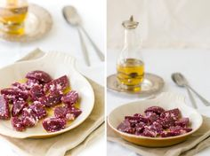 Roasted Beetroot with Feta