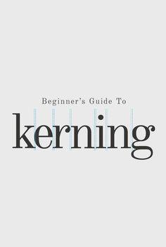 A beginner's guide to kerning like a designer – Willkommen bei Pin World Graphisches Design, Graphic Design Tips, Graphic Design Typography, Tool Design, Layout Design, Branding Design, Creative Typography, Identity Branding, Corporate Design