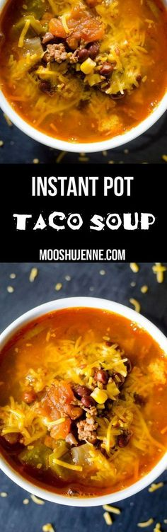 I am totally addicted to soups even in the summer. That when I hide out in the house working like crazy but need a good recipe for the instant pot like Instant Pot Taco Soup. I don't want to heat up the entire house with the oven,. Texas and the humidity here is far too hot for that. But the soup needs to have that feeling of summer. Where while I eat it I can wait a fun movie like say Mamma Mia and chow down on a good bowl of hearty goodness.