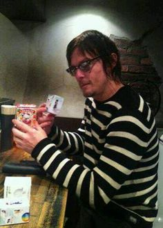 Norman in stripes