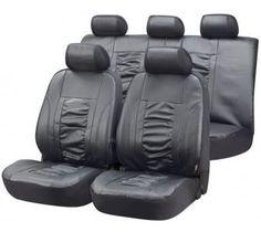 Kunstleder Sitzbezüge Raphael grau - die elegante Lösung für einen schönen Innenraum.