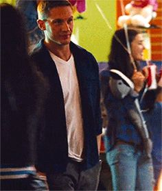 Tom Hardy .gif  OH MY THAT WALK. Mmm imagine him walking towards you like that