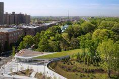 Brooklyn Botanic Garden Visitor Center, New York, 2012 - Weiss Manfredi
