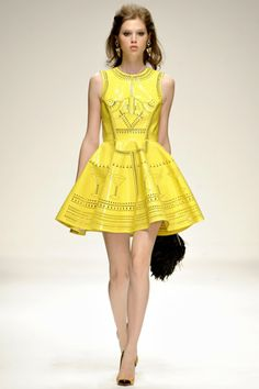yellow dress High Fashion Dresses c66aa060f
