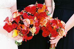 Fall colours..bouquet shot.
