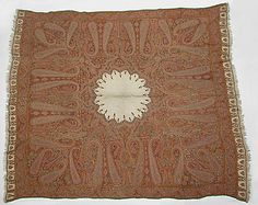 Shawl  Date: mid-19th century or later