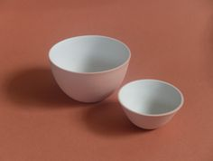 Cast Ceramics - Eliza and Poppy bowls Canvas Cloth and Bowl