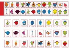 Qui est-ce? version Monsieur, Madame!   {L'autre} Véro.ca Monsieur Madame, Teaching French, Little Miss, Pixel Art, Calendar, Kids Rugs, Education, Fun, Cards