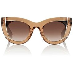 124dbfccac6 Thierry Lasry Women s Wavvvy 864 Sunglasses (€495) ❤ liked on Polyvore  featuring accessories