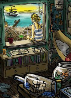 pandora's room by ~JACKIEthePIRATE on deviantART