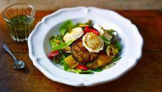 BBC - Food - Recipes : Warm goats' cheese salad