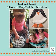 This darling picture book is sure to be a hit with your little ones! It's such a fun story about friendship lost and then found again. There is something about penguins that just makes me smile! The activites that we chose to go along with this book are Kids Reading Books, Kids Activity Books, Book Activities, Toddler Activities, Storybook Crafts, Lost & Found, Cute Kids, Little Ones, Books To Read