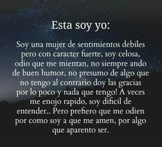 Esta soy yo Motivational Quotes For Girls, Motivational Phrases, Inspirational Quotes, Wolf Quotes, Girl Quotes, Me Quotes, Latinas Quotes, Spanish Quotes, Picture Quotes