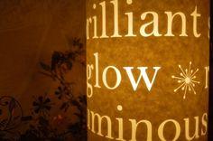 Lyrical Light Lamp by Hannahnunn