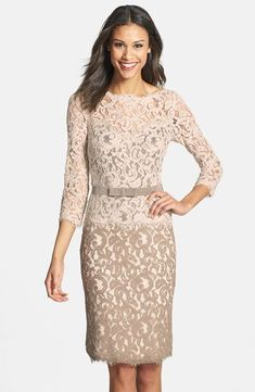 cream and beige lace separates for city hall wedding