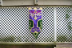 My Twilight Princess half-sized banner, for sale on Etsy. #zelda #princesszelda #twilightprincess #nerd #geek #legendofzelda #breathofthewild #videogames #gamer #gaming #gamergeek #gamergirl #decor #hangthebastards #wallart #wallhanging #banner #tapestry #etsy #fabric #sewing #handmade #triforce #hyrule