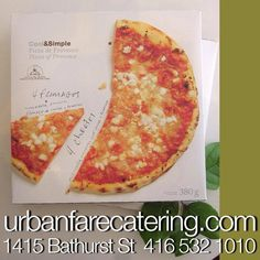 #urbanfarecatering Four Cheese Pizza, Mozzarella, Catering, Social Media, Projects, Food, Goat Cheese, Log Projects, Meal