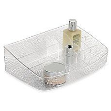 image of InterDesign® Rain Clear Cosmetic Station
