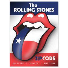 The Rolling Stones - ZIP Code Tour - Dallas - US