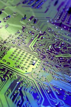 Robot Printed Circuit Board Pendant   Geek Stuff   Pinterest ...