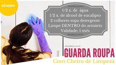 GUARDA ROUPA COM CHEIRO DE LIMPEZA - Dicas da Lucy