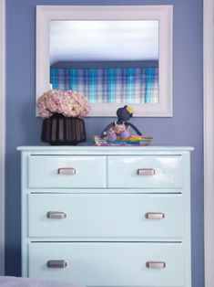 dressers for small spaces lowes paint colors interior Check more at grobyk check dressers for small spaces lowes paint colors interior Check more at grobyk check Paint Color PAINT COLOR nbsp hellip Painting colors Periwinkle Bedroom, Periwinkle Color, Large White Mirror, Lowes Paint Colors, Coloring For Boys, Blue Dresser, Purple Interior, Favorite Paint Colors, Girls Bedroom
