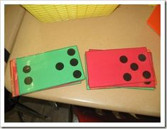 Love this idea for morning meeting, number talks, and dot cards