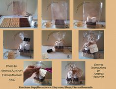 S'MORES Wedding Favor KIT 100 Hand Stamped Hand by EternalJournals, $42.50