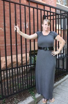 At Second Street: maxi dress tutorial