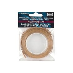"ArtEmboss Metal Foil Tape, Copper 1/4""x16 Feet $8.29"