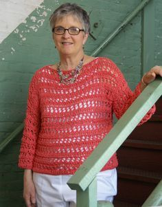 Katy Did It Pullover - free pattern