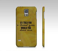 I Love You Samsung Galaxy5 Case