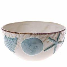 Stoneware Seashell Cereal Bowl //shop.crackerbarrel.com/Stoneware-Seashell-Cereal-Bowl/dp/B00IO4YW8K  sc 1 st  Pinterest & Beach dishes Kohls   SONOMA life + style Seaside Dinnerware   For ...