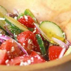 Ensalada griega fácil @ allrecipes.com.mx