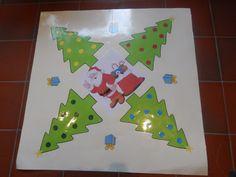 Het spel 'De Boomgaard' in het thema Kerstmis Math For Kids, Jingle Bells, December, Shapes, Projects, Christmas, Gaming, Weihnachten, Log Projects