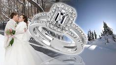 Emerald Cut Diamond Ring - http://www.engagement-rings-info.org/emerald-cut-engagement-rings/