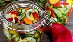 Sałatka z ogórków do słoików Kitchen Recipes, Pickles, Cucumber, Vegetables, Blog, Women, Diet, Vegetable Recipes, Blogging